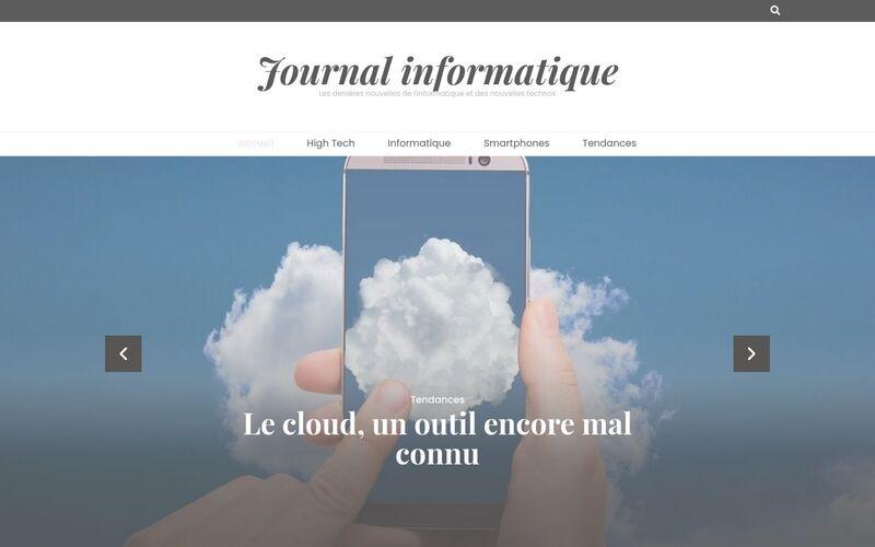 Journal informatique - Les denières nouvelles de l'informatique et des nouvelles technos